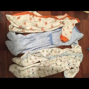 4 piece bundle of one -pieces